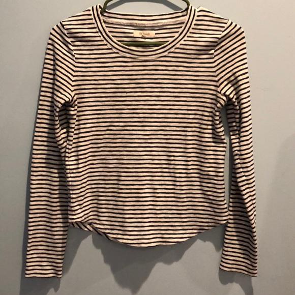 357d3ef555 Madewell Tops - Madewell | Striped long sleeve